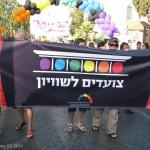 צועדים לשווין, מצעד הגאווה בירושלים 2010. צילום: מאור ברזני