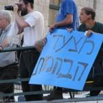 מצעד הבהמות, מצעד הגאווה בירושלים 2010. צילום: מאור ברזני