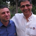 הבנ''ה 2011 - ידין ספיר ואבי סופר. צילום: מאור ברזני